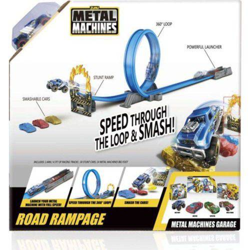 Pista Metal Machines - Road Rampage Valor St : R$0