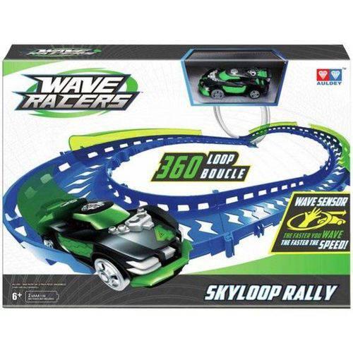 Pista Wave Racers Skyloop Rally Veículo e Pista Loop 360 Dtc