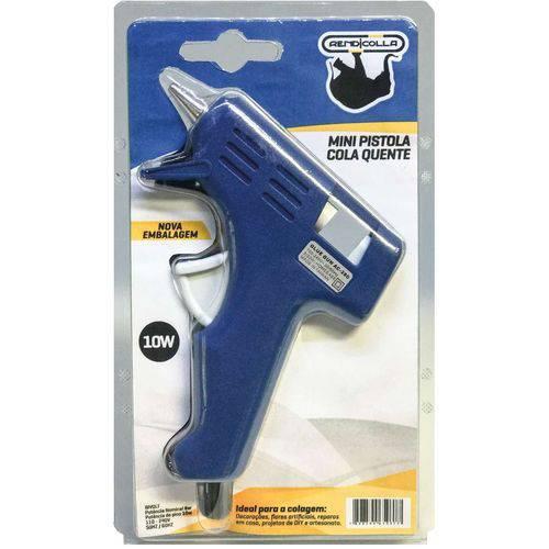 Pistola de Cola Quente 10w Bivolt Pequena Rendicolla