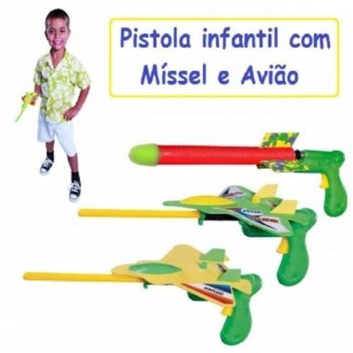Pistola Jet MÍSSIL Mor