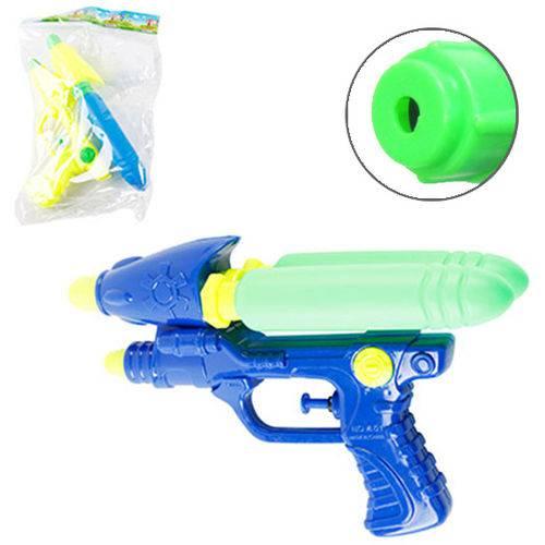 Pistola Lanca Agua Canhao Duplo Colors 24cm