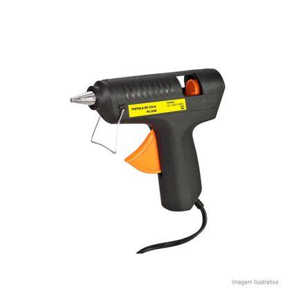 Pistola para Cola Quente 20W Bivolt AEU1030001 Preta Ferrari