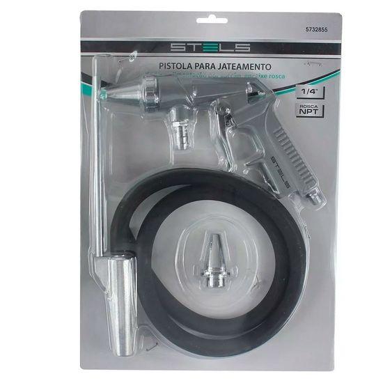 Pistola para Jateamento de Areia por Sucção Encaixe Rosca 1/4 NPT 5732855 -Stels