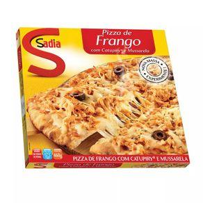 Pizza de Frango com Catupiry e Mussarela Sadia 460g