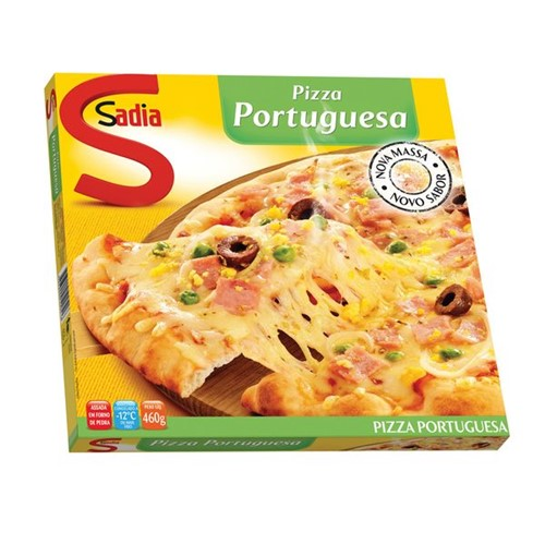 Pizza Sadia 460g Portuguesa