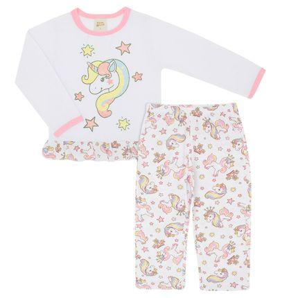 Pl75068 Pijama Manga Longa C/ Calça