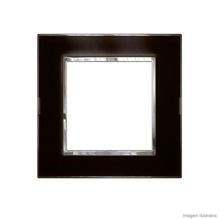 Placa 3 3 Postos Arteor Mirror Black 4X4 583032 Pial