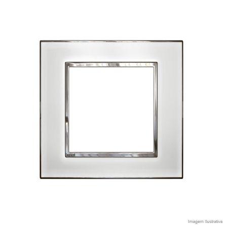 Placa 3 3 Postos Arteor Mirror White 4X4 583034 Pial