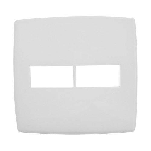 Placa 1+1 Interruptor - 618511 - PIAL