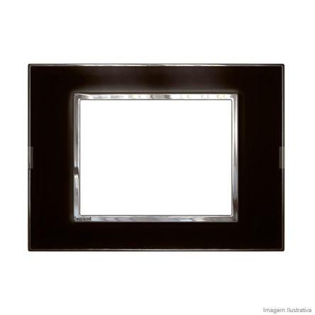 Placa 1 Posto Arteor Mirror Black 4X2 583002 Pial