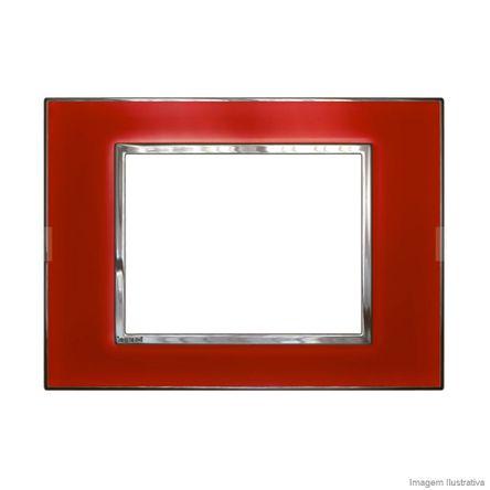 Placa 1 Posto Arteor Mirror Red 4X2 583003 Pial