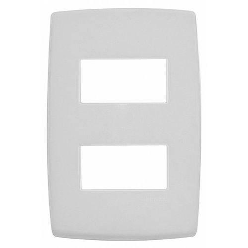 Placa 4x2 Dois Postos Separados Branco Legrand