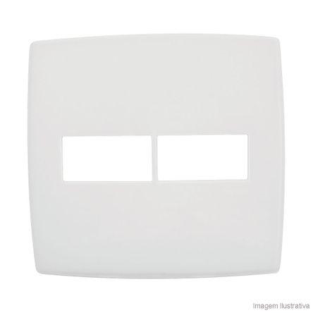 Placa 4x4 1 1 Posto Branco Pialplus Pial