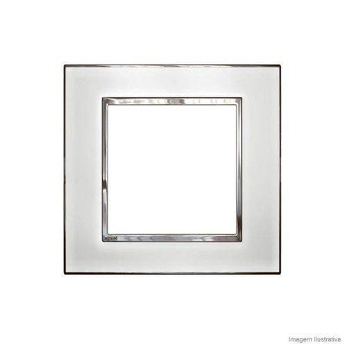 Placa 4x4 6 Postos Arteor Quadrados Mirror White Legrand