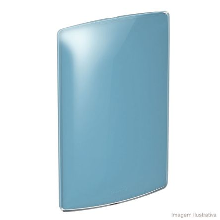 Placa Cega 4X2 Blueberry Gloss Nereya Pial