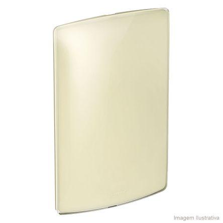 Placa Cega 4X2 Quinoa Gloss Nereya Pial