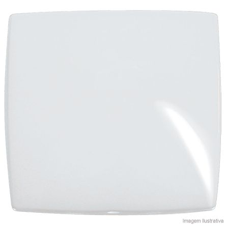 Placa Cega 4X4 Branco Gloss Pialplus Pial
