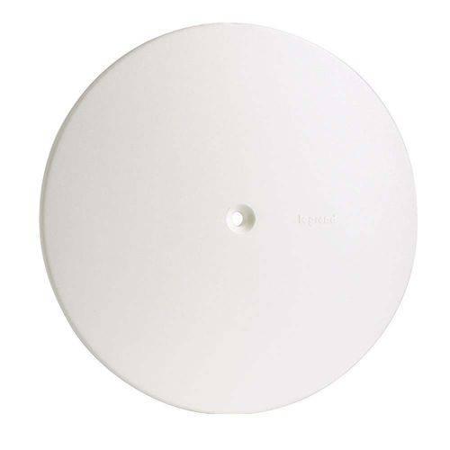 Placa Cega Redonda para Caixa Branco Pialplus Pial