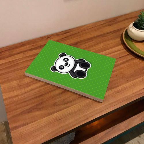 Placa de Bancada Decorativa Desenho Panda