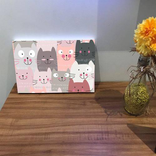 Placa de Bancada Decorativa Gatinhos