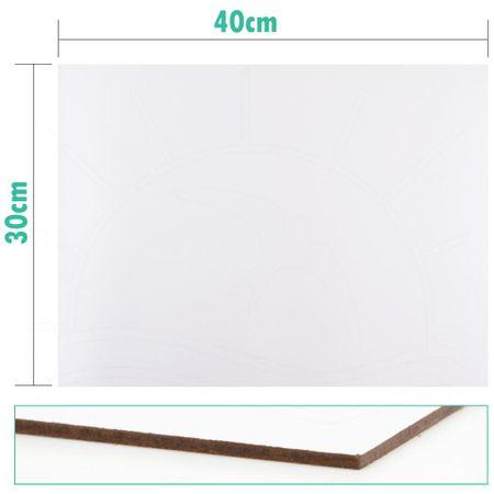 Placa de MDF para Pintura em Tecido 30x40cm