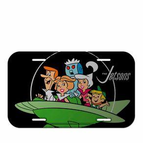 Placa de Metal Familia os Jetsons Hanna Barbera