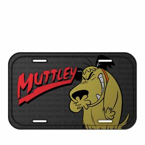 Placa de Metal Muttley Corrida Maluca Hanna Barbera