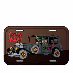 Placa de Metal Quadrilha da Morte Corrida Maluca Hanna Barbera