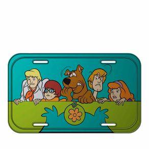 Placa de Metal Scooy Doo Hanna Barbera