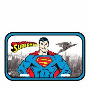 Placa de Metal Super Homem Dc Comics