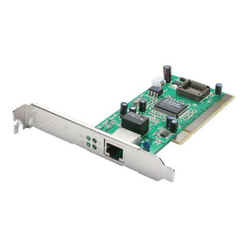 Placa de Rede D-link Dge-528t Gigabit 10/ 100/ 1000 Mbps Pci
