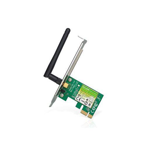 Placa de Rede Wireless 150mbps Pci Express Tl-wn781nd Tp-link