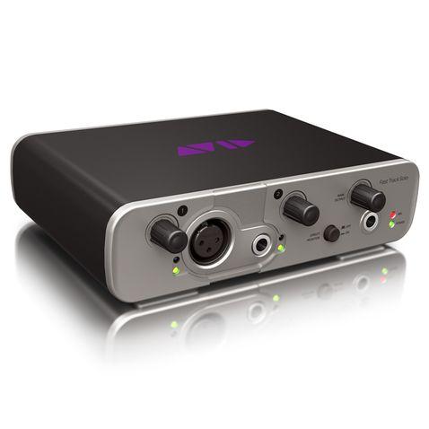 Placa de Som Avid Fast Track Solo C/ Pro Tools Express