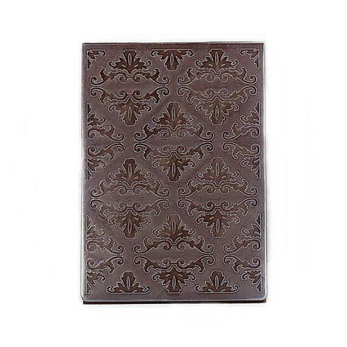 Placa de Textura Emboss 10,6x15 Cm - Modelo Arabesco Chique