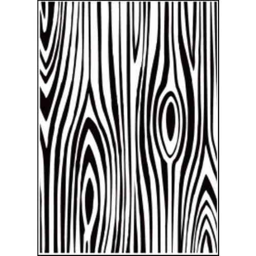 Placa de Textura Emboss 10,6x15 Cm - Modelo Árvore