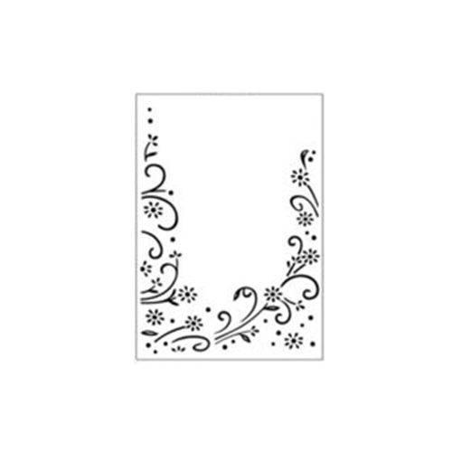 Placa de Textura Emboss A6 Art e Montagem PE001-13