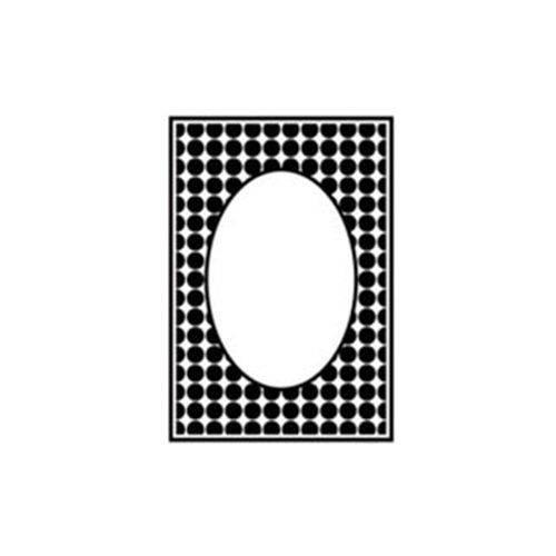 Placa de Textura Emboss A6 Art e Montagem PE001-15