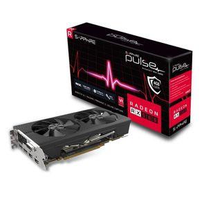 Placa de Vídeo Sapphire 11265-09-20G Radeon Pulse RX 580 4GB OC 256Bits GDDR5 com Blackplate