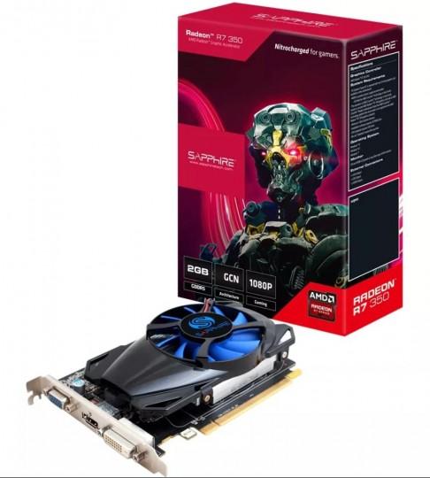 Placa de Video Sapphire Amd Radeon R7 350 2GB GDDR5 11251-10-20