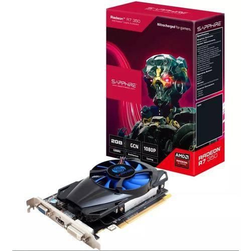 Placa de Video Sapphire Amd Radeon R7 350 2gb Gddr5 - 11251-10-20g