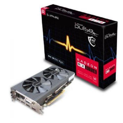 Placa de Vídeo Sapphire Radeon Pulse Oc Rx570 8gb Gddr5 256 Bits