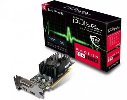 Placa de Vídeo Sapphire Radeon Pulse Rx 550 4gb 128bits Gddr5
