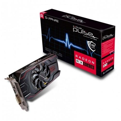 Placa de Video Sapphire RadeonPulse Rx 560 4GB OC- 11267-18-2