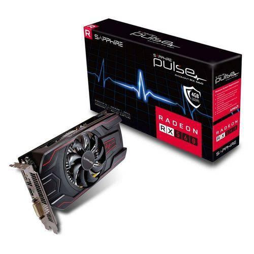 Placa de Video Sapphire Radeonpulse Rx 560 4gb Ocversion Gddr5- 11267-18-20g