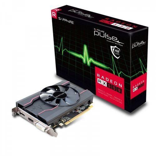 Placa de Vídeo Sapphire Radeon Rx 550 4gb Ddr5 128bits