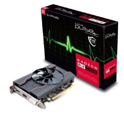 Placa de Video Sapphire Radeon RX 550 2GB Pulse DDR5 128 BITS- 11268-03-20G