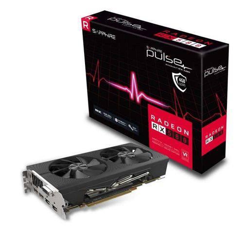 Placa de Video Sapphire Radeonrx 580 4gb Pulse Ddr5