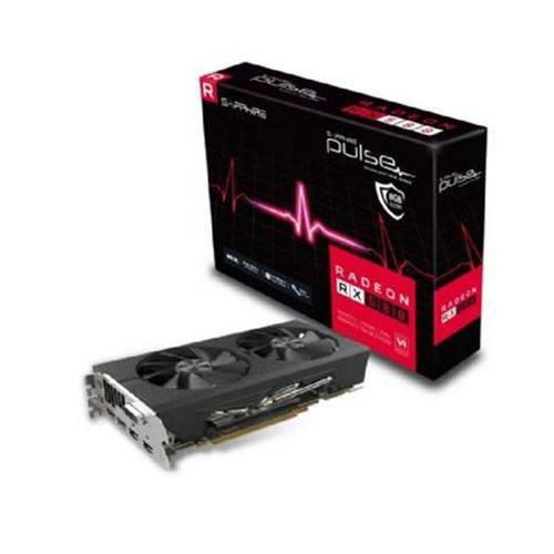 Placa de Video Sapphire Radeon Rx 580 8gb Pulse Ddr5 256 Bits - 11265-05-20g