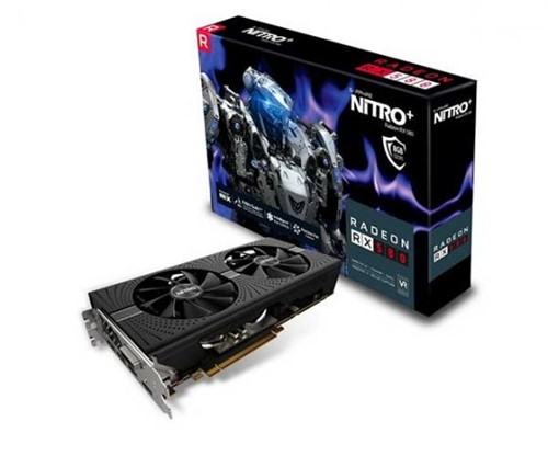 Placa de Vídeo Sapphire Radeon Rx 580 Nitro+ 8gb 256bits