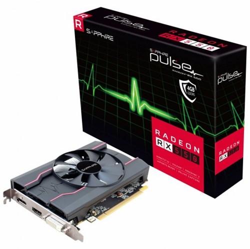 Placa de Video VGA AMD Sapphire RADEON RX 550 4Gb 11268-01-20G